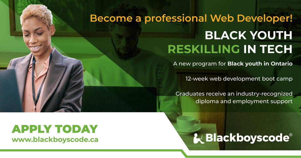 Black Boys Code Reskilling Workshop
