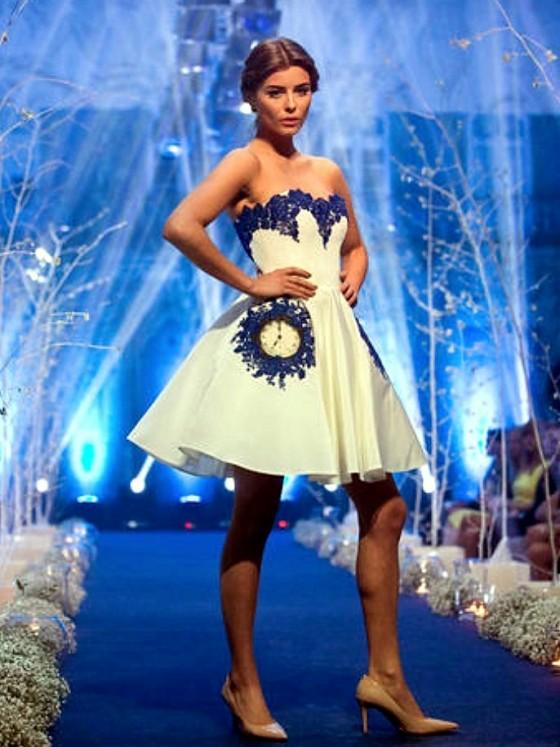 Gabija Varnaite white dress
