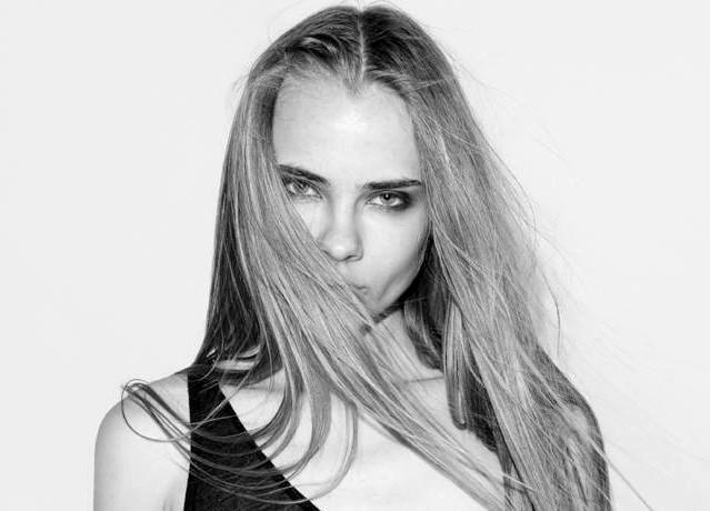 Lidia Vidrenko + black + white + face