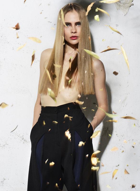 Lidia Vidrenko + model + torso