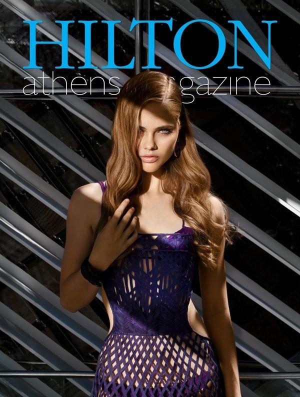 Lidia Vidrenko + model +