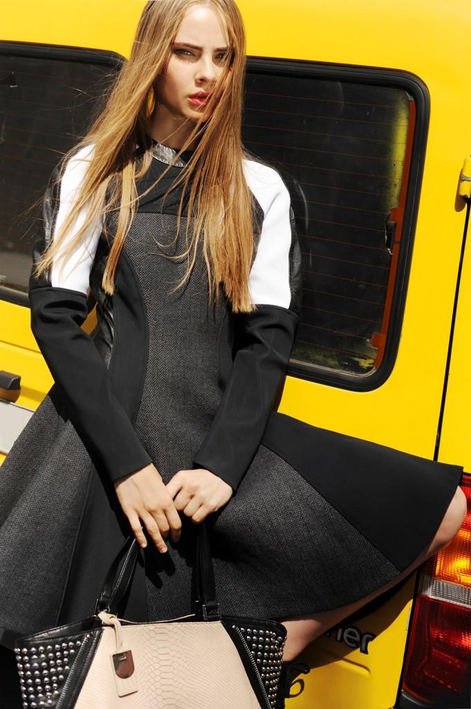 Lidia Vidrenko + model + portrait