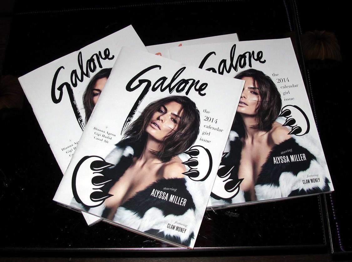 Galore Magazine one year anniversary