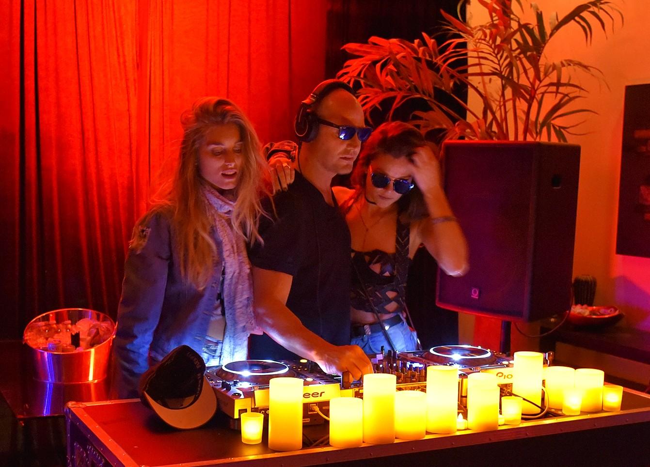 Bob Zangrillo party, Coachella, DJ