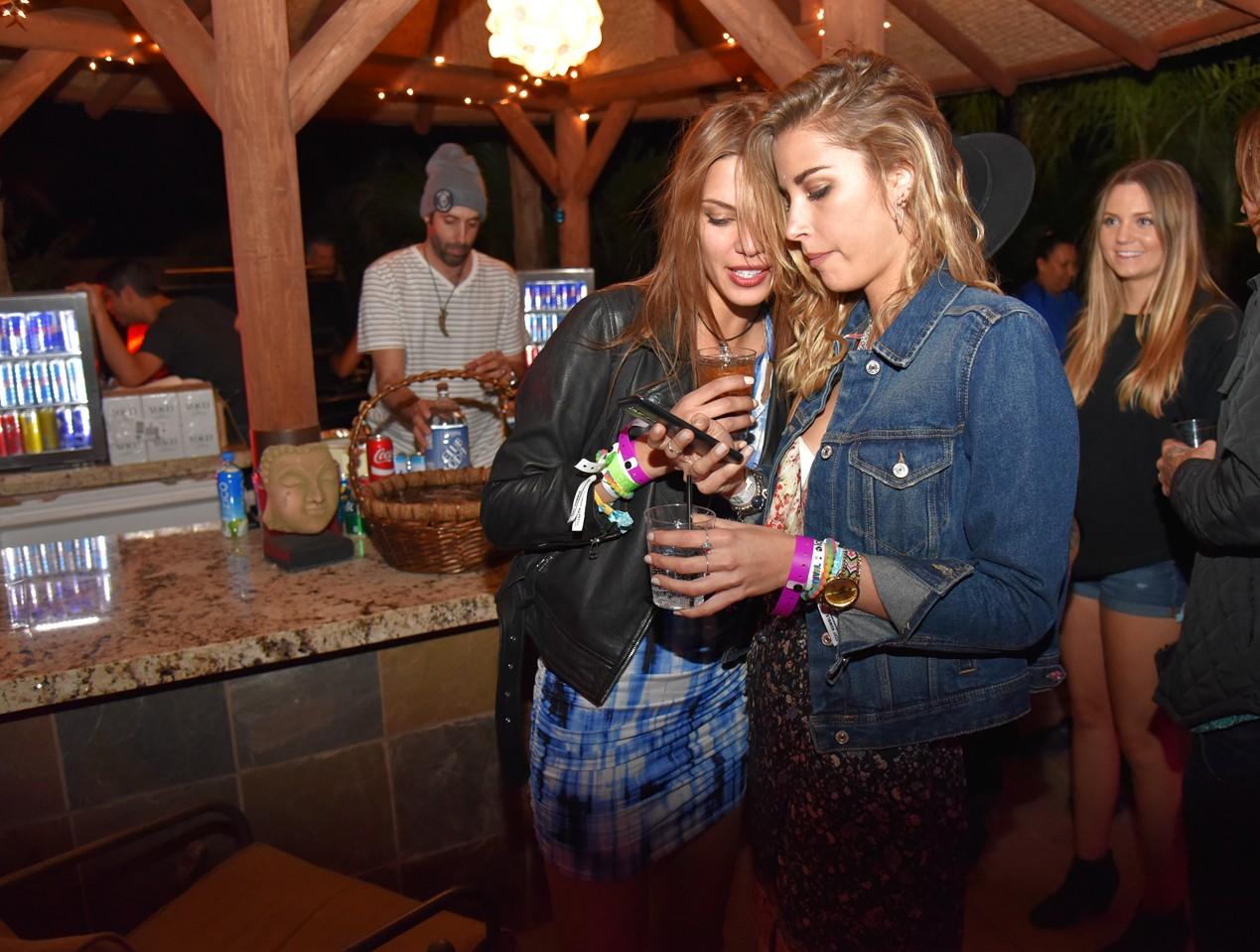 Bob Zangrillo party, Coachella, spanish girls