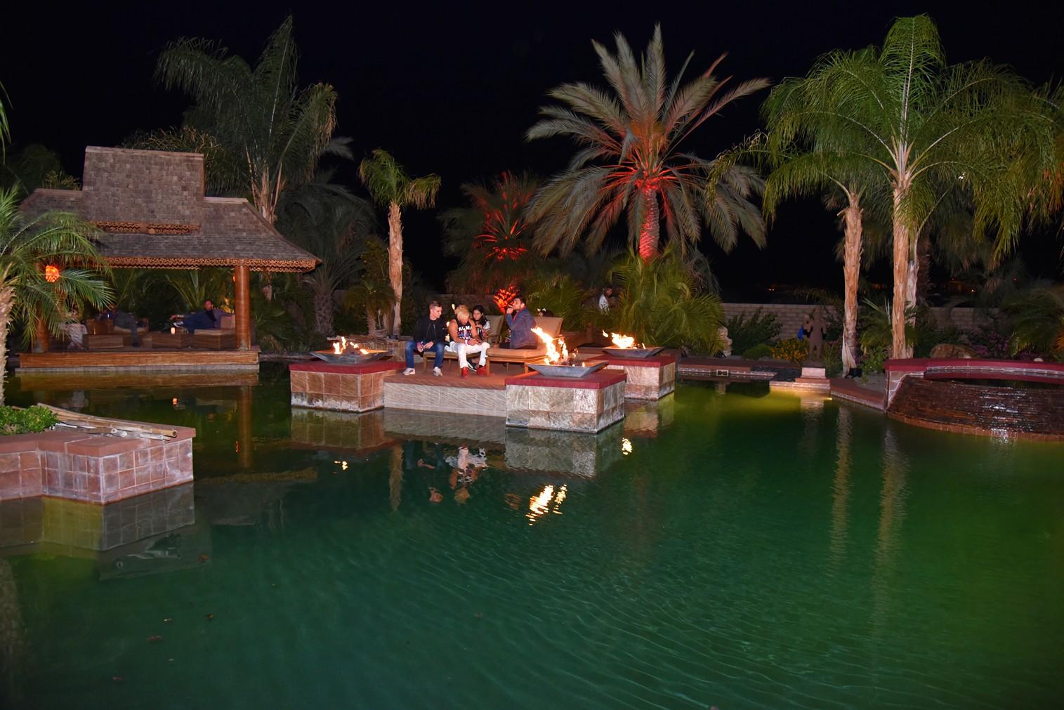 Bob Zangrillo party, pool