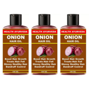 Onion hair loss (Pack of 3)