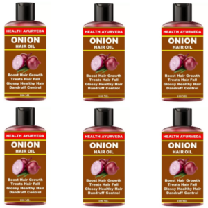 Onion hair loss (Pack of 6)