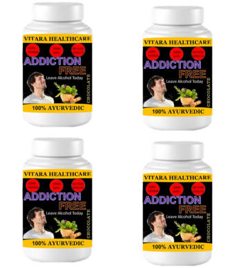 addiction free (Pack of 4)