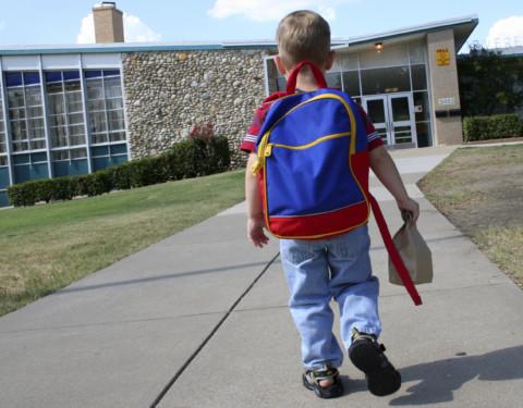 kids to school