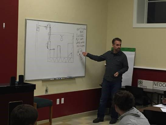 Forrest Castile Teaching at NEDCO