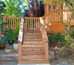 Stairs and Deck Space