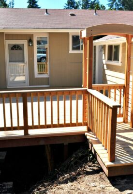 Berman front porch and outdoor living