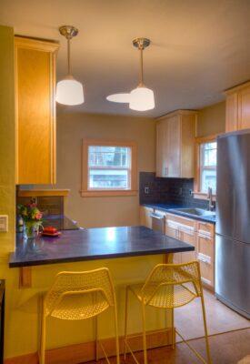Sunny Finished Kitchen