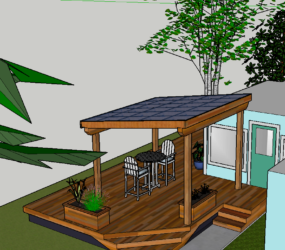 Deck Design by Eugene Contractor