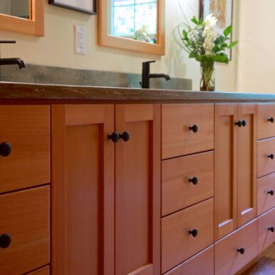 Castile Kitchen and Bath Finished Remodel with fir vanity
