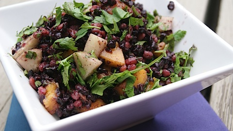 Thai Black Rice + Farro Salad