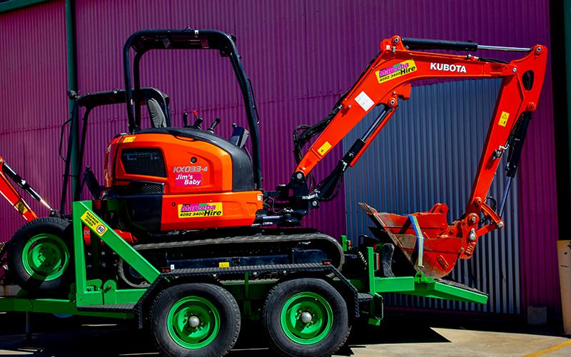 Mareeba Hire -Equipment Hire- Excavator