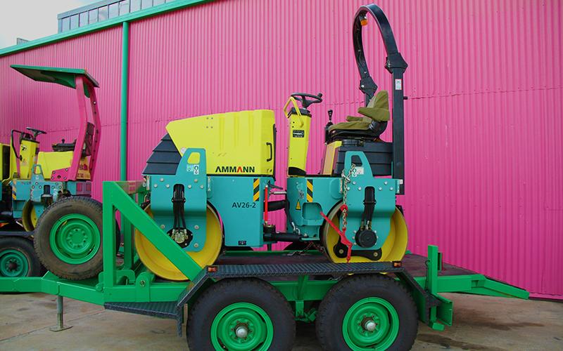 Mareeba Hire -Equipment Hire- Roller