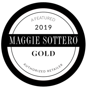 2019 Gold Authorized Retailer Maggie Sottero Seal