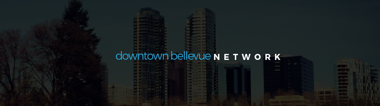 Downtown Bellevue Network Background Image
