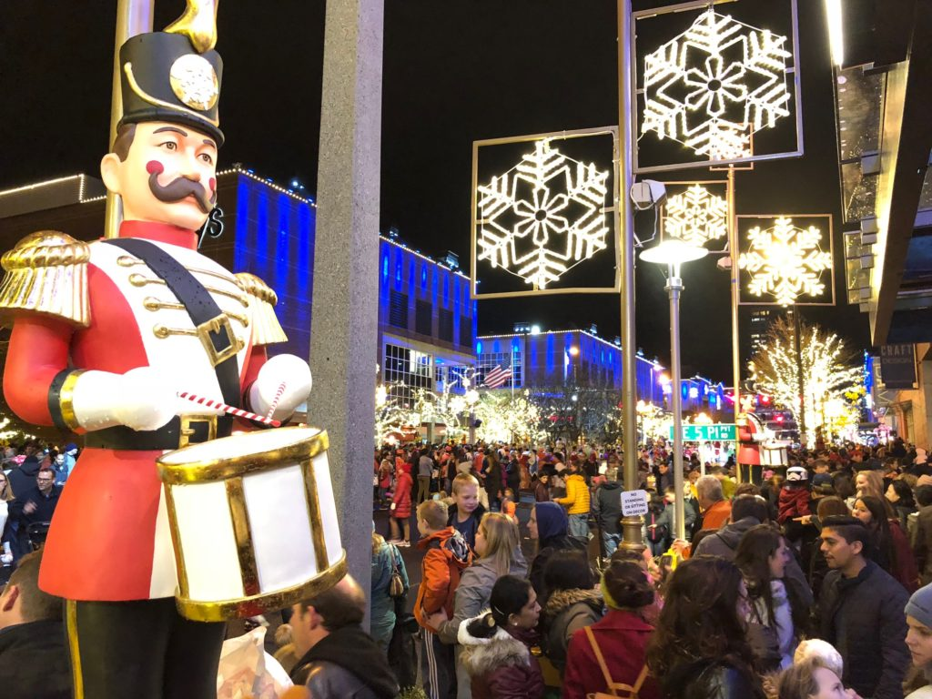 Downtown Bellevue Holiday Events - Snowflake Lane