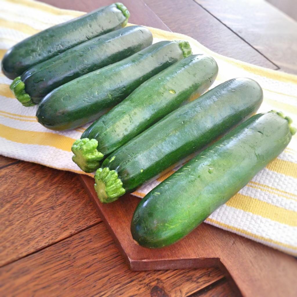 Raw Zucchini Noodles - Clovers & Kale - Pesto - Recipe