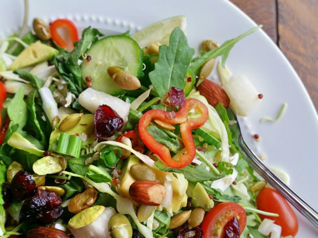 Quinoa Superfood Salad - Clovers & Kale - Recipe