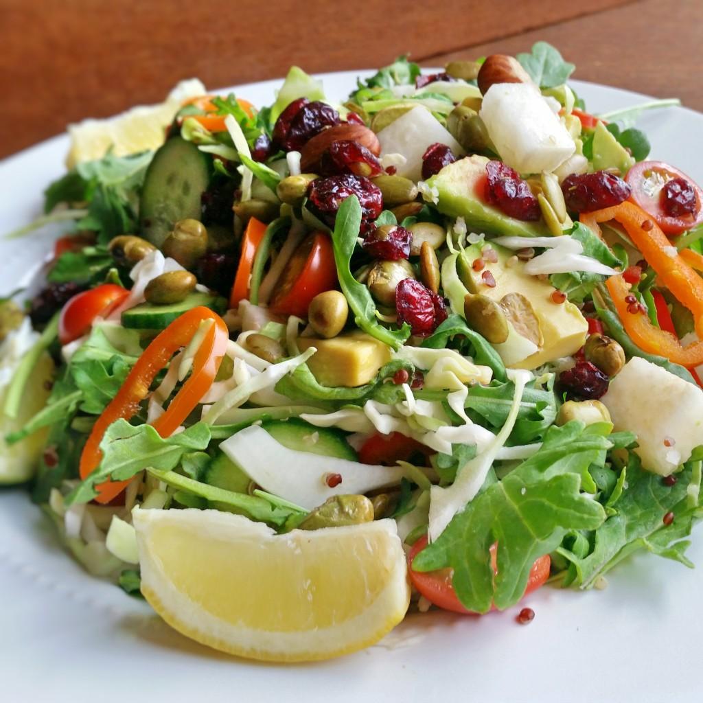 Qunioa Salad - Clovers & Kale - Recipe