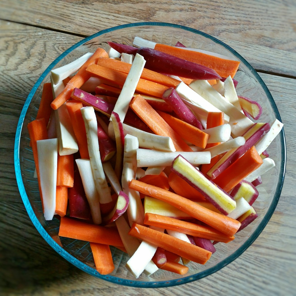 Parsnips & Carrots - Recipe - Clovers & Kale