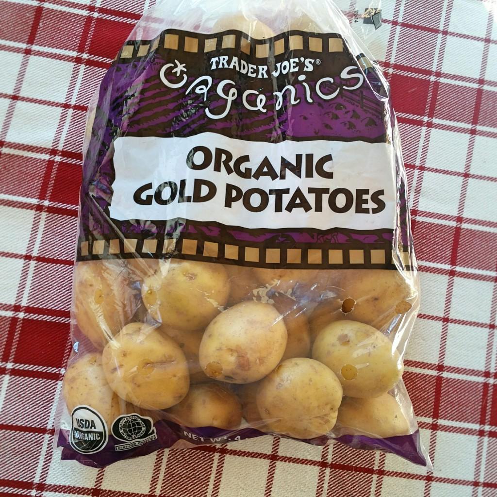 Organic Gold Potatoes - Clovers & Kale - Recipe