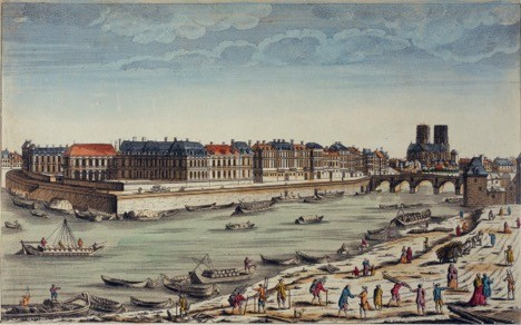 A real estate developer's dream – The newly created Ile Saint-Louis in the 17th century (Le Grand Siècle) when wealth merged with architectural genius to create what Voltaire described as the most perfect place on Earth after Jerusalem.