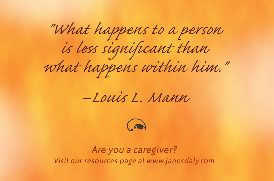 caregiving moments finding strength within