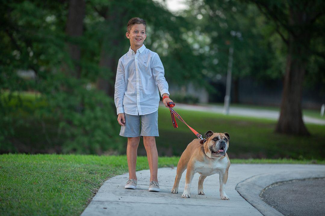 child-boy-dog-austin-texas