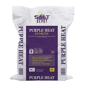 Purple Heat De-Icer