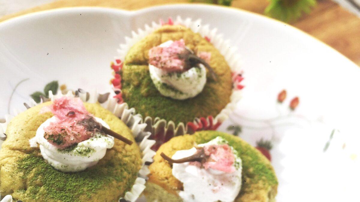 Легкий весенний десерт – шифоновый бисквит с маття