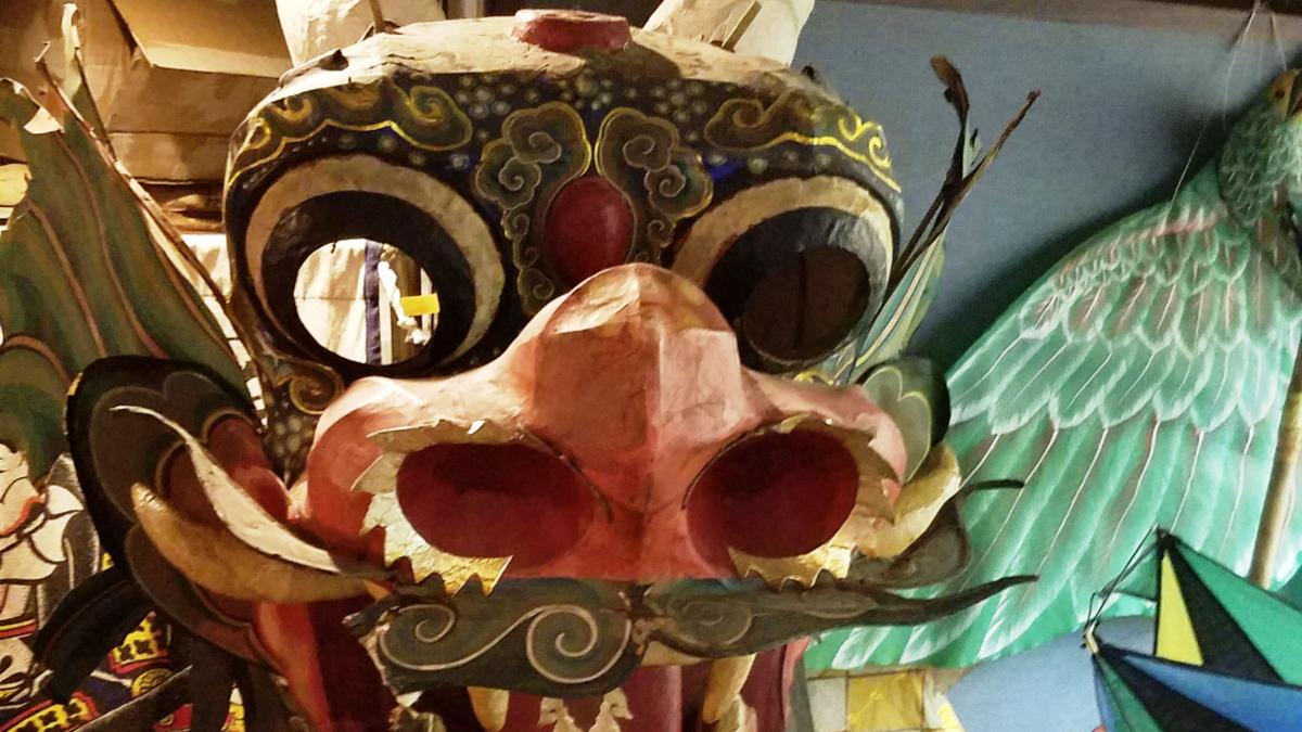 Музей воздушных змеев в Токио: утюг, дракон и Чарли Чаплин
