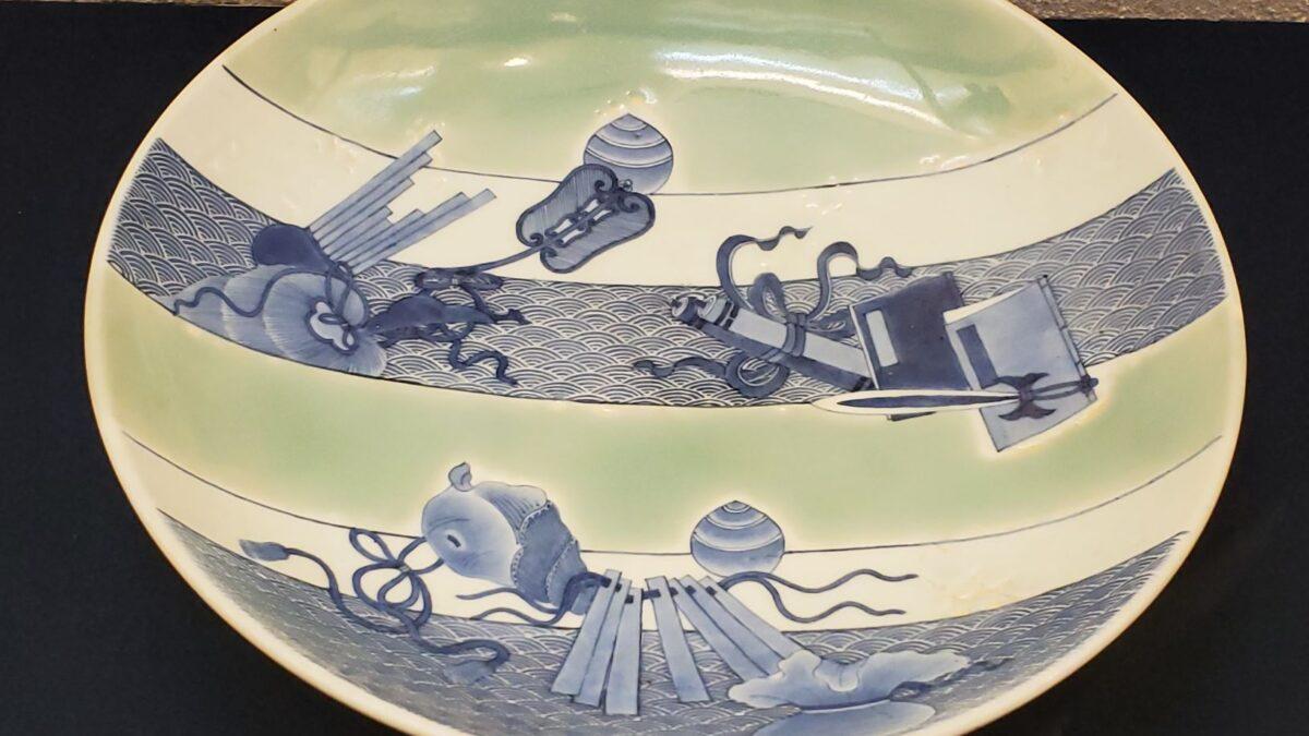 Редкая японская керамика: селадоновая глазурь из княжеских гончарен Набэсима