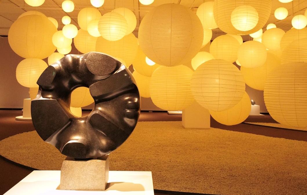 Говорящие формы Исаму Ногути в музее на Уэно