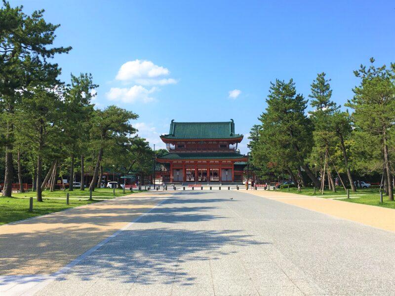Святилище Хэйан-дзингу, Киото