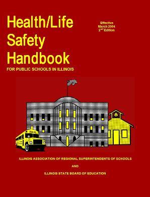 Health/Life Safety Handbook Cover