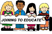 I-KAN Kids holding Joining to Educate sign