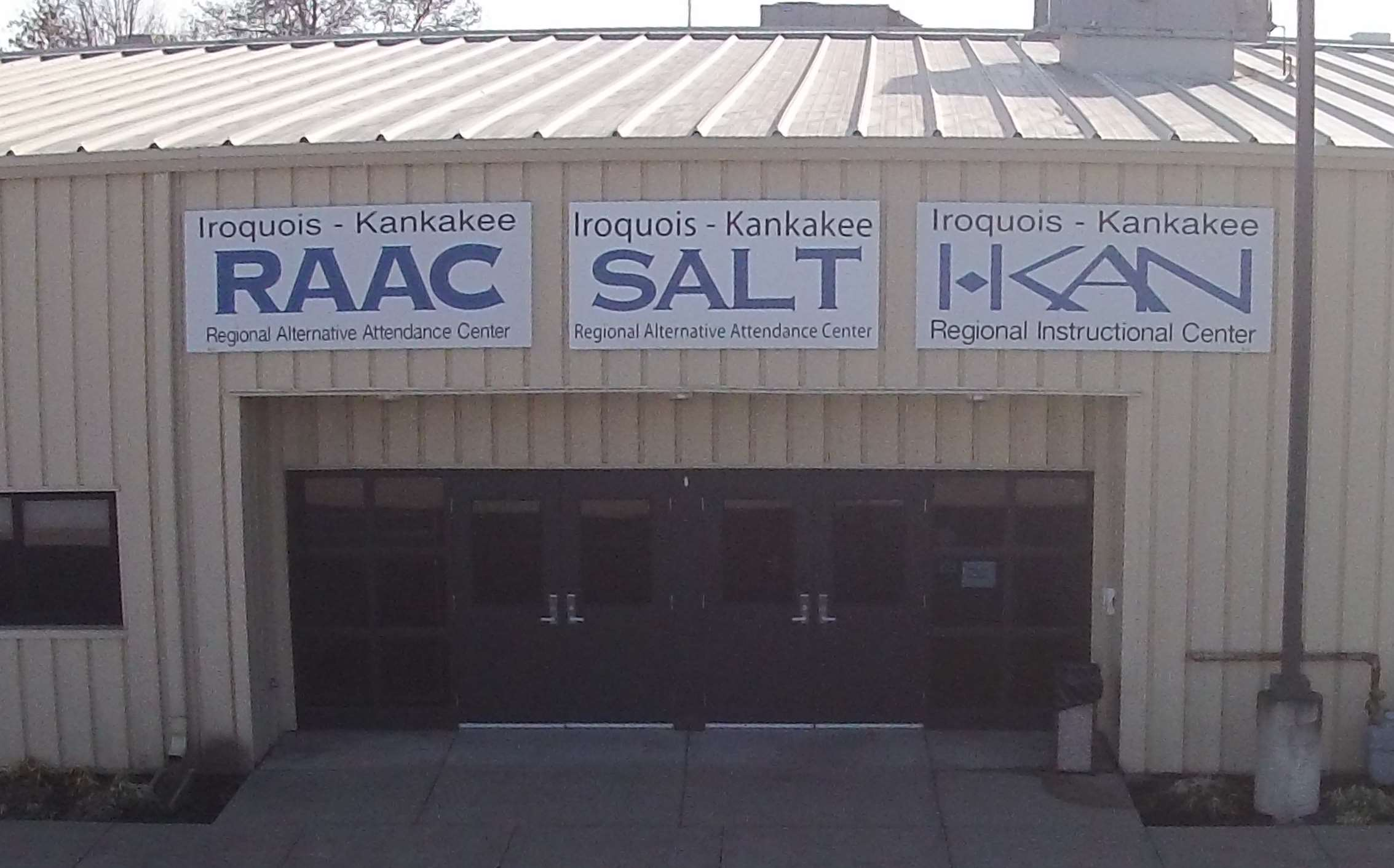 I-KAN Schools: RAAC & SALT Building