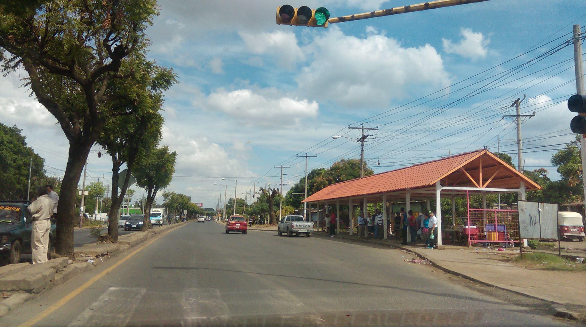 Las nuevas paradas de buses Tuc en Managua