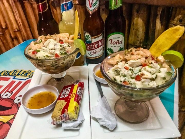 Ceviches Mixtos en Managua