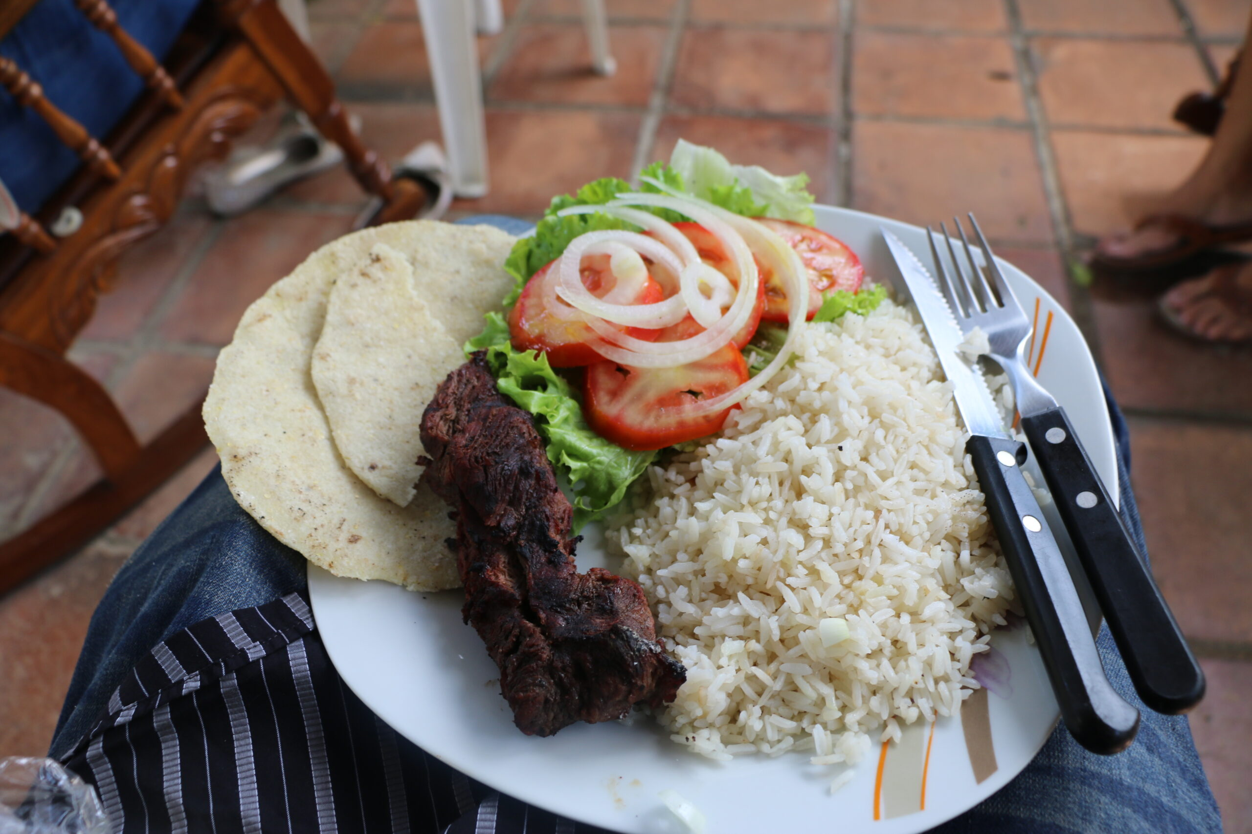¿Cuánto cuesta almorzar en Nicaragua?