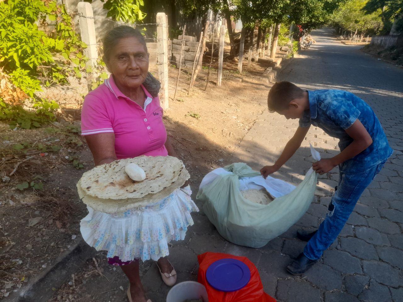Las Tortillas de San Rafael de Sur en Nicaragua