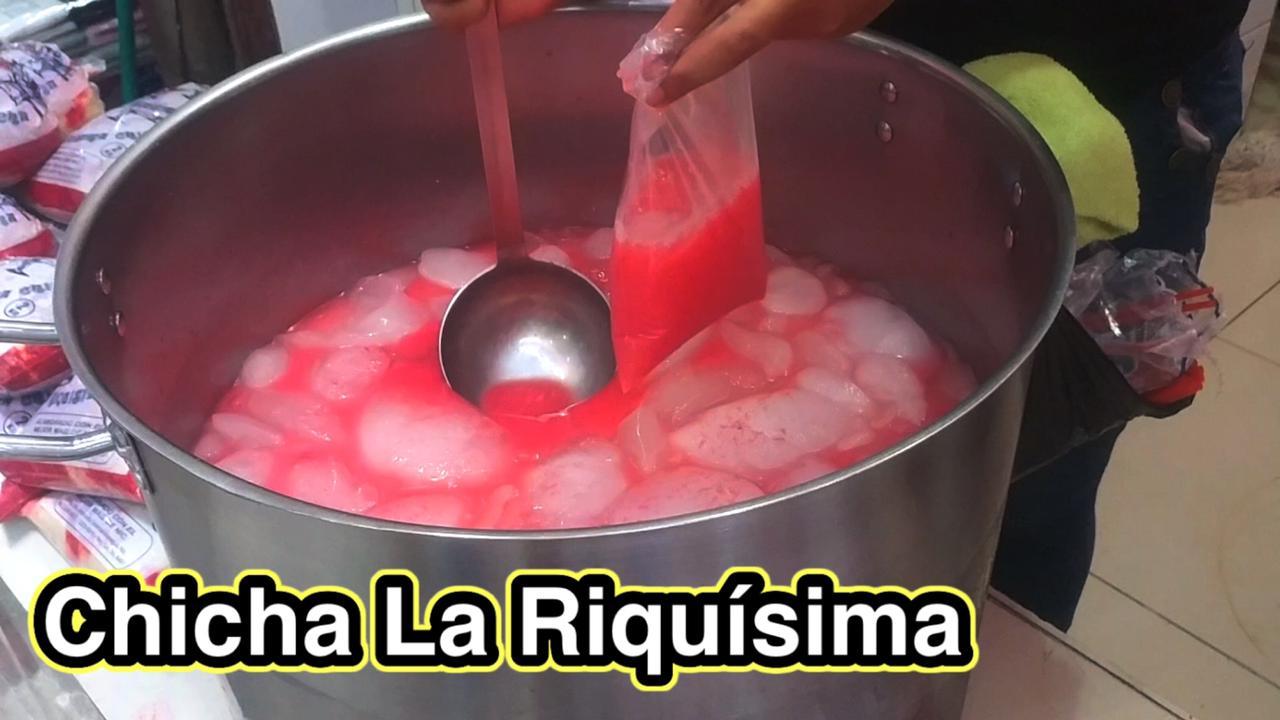 Chicha de Maíz La Riquísima en Managua Nicaragua