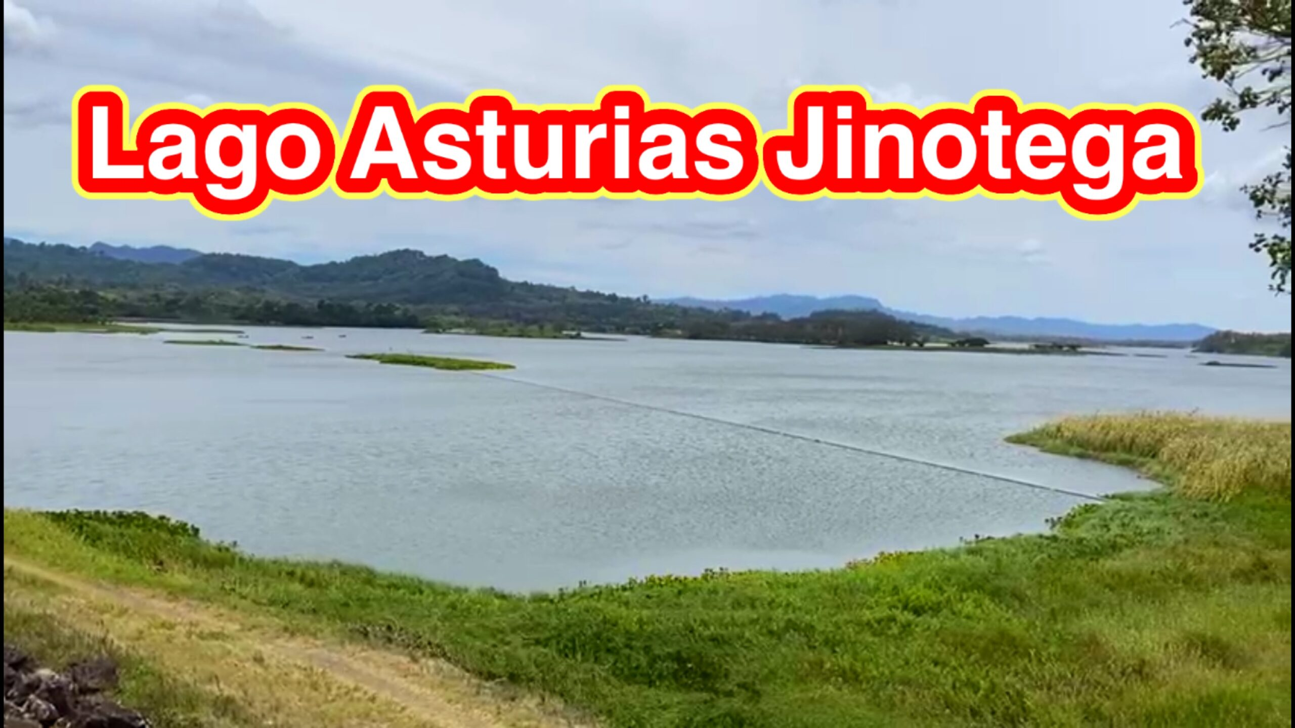 Lago de Asturias en Jinotega Nicaragua