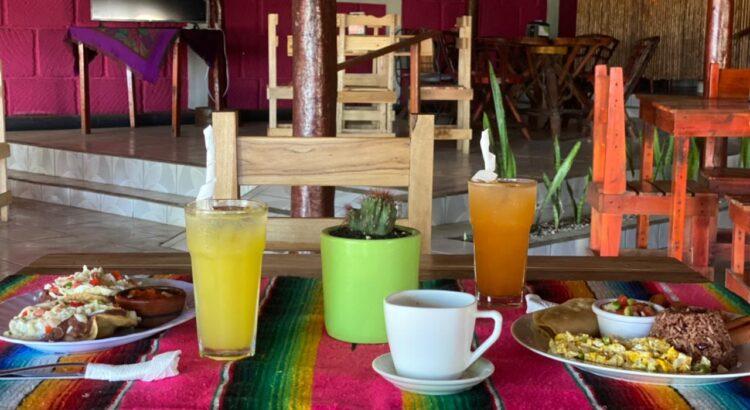 Ricos desayuno en carretera nueva León Managua